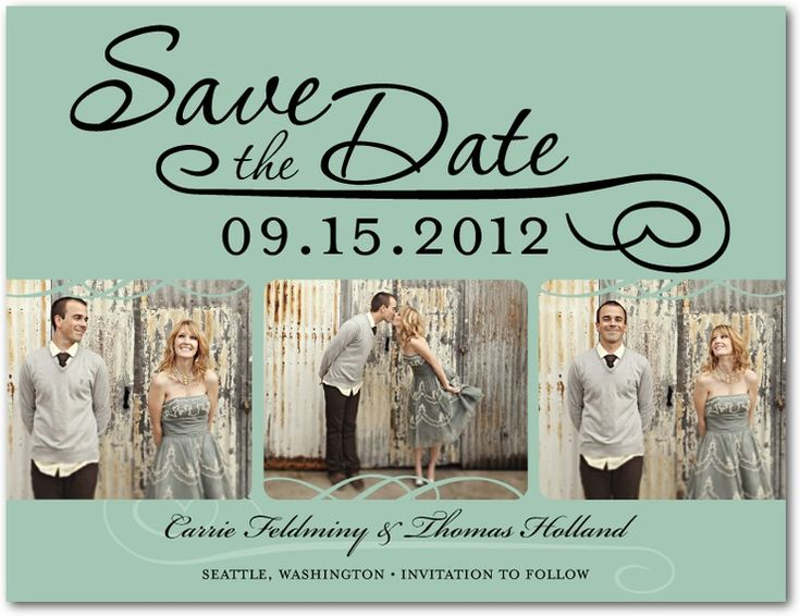 Save the Date Cards - Etiquette, Tips, Inspiration, Ideas, and DIY ...