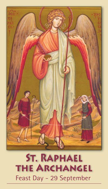 Free Catholic Holy Cards - Catholic Prayer Cards - St Michael Archangel - St. Gabriel Archangel - St. Raphael Archangel - Guardian Angel - Support Missionary work