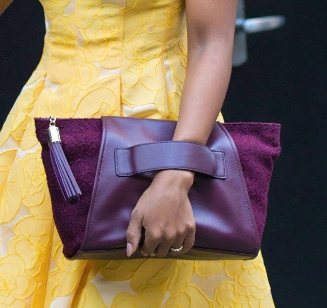 Seriously Natural: Kerry Washington: Style, Hair And The Purple Purse