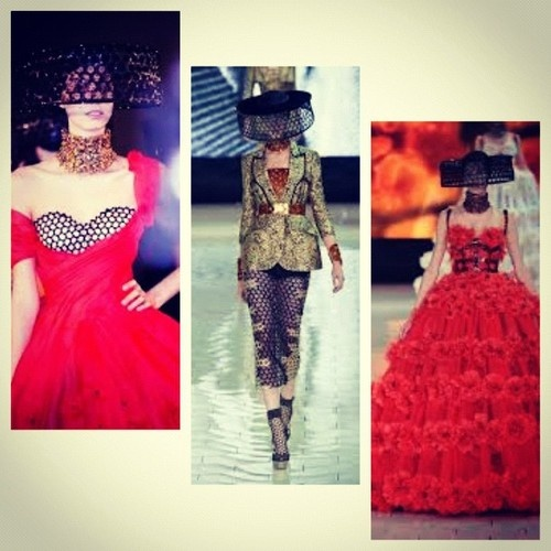 The Alexander McQueen S/S 2013 collection by Sarah Burton