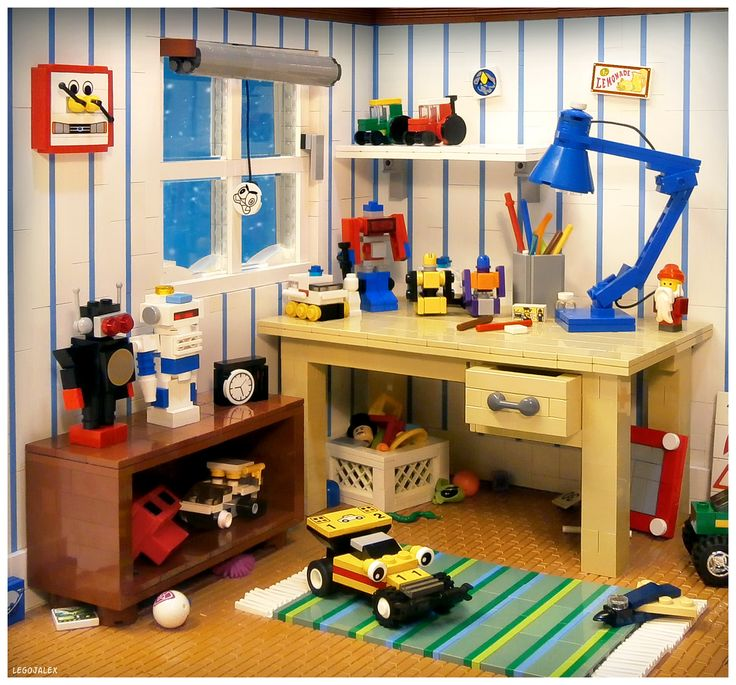 kids room from the - Boys Room Lego Ideas