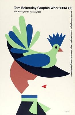 Tom Eckersley poster
