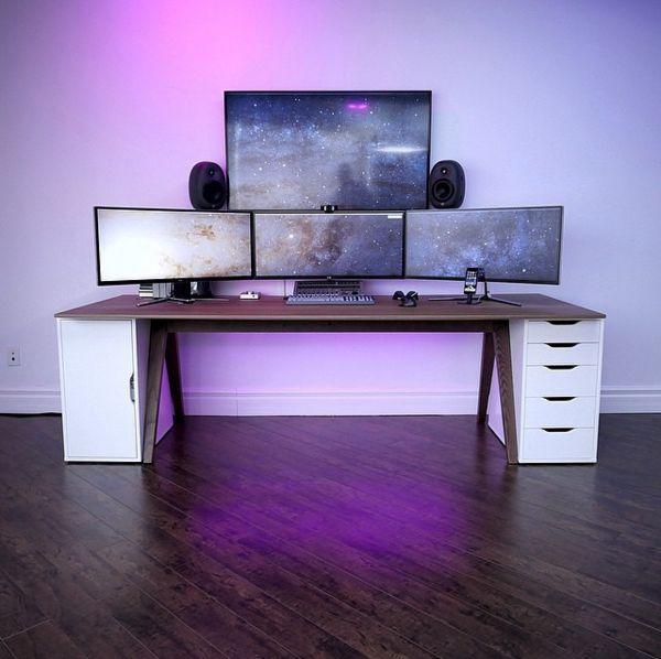Best 25+ Ikea gaming desk ideas on Pinterest