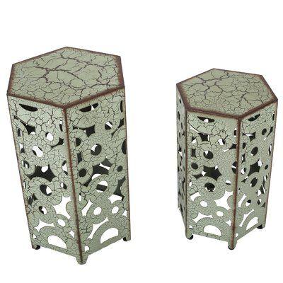 Mistana Lexia 2 Piece Nesting Tables & Reviews   Wayfair