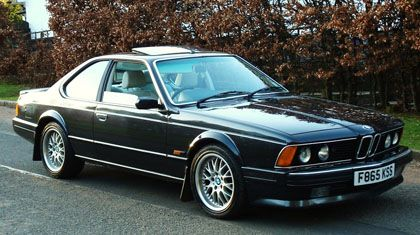 1988 Bmw 635 Csi Highline My Style Pinterest Bmw 635