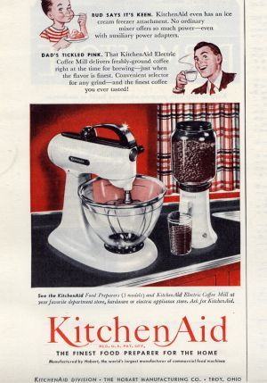 kitchen aid mixer!