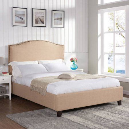 Better Homes and Gardens Grayson Queen Bed Oatmeal
