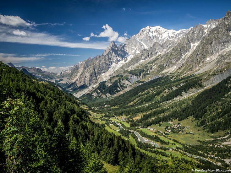 Mont blanc côté italien