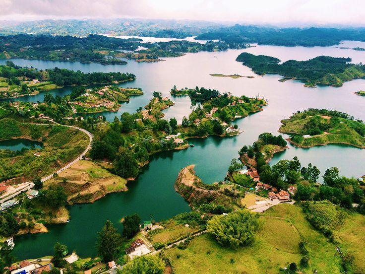 How to Spend One Week in Medellín, Colombia // side trip to El Penol & Guatape