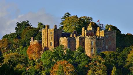 A view of Dunster Castle