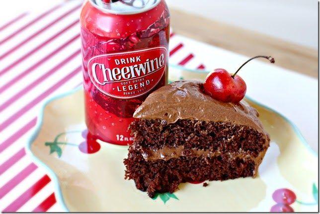 Cheerwine Chocolate Pound Cake