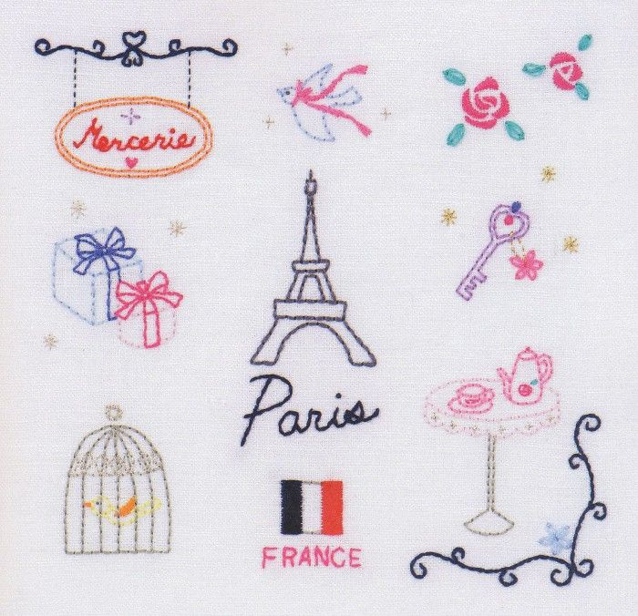 Free japanese embroidery pattern ----> you just have to CLICK on the picure to have the pattern