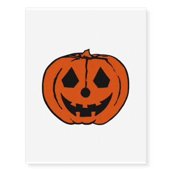 Pumpkin Pal Png True Png Temporary Tattoos Zazzle Com Temporary Tattoos Artwork Pumpkin Design