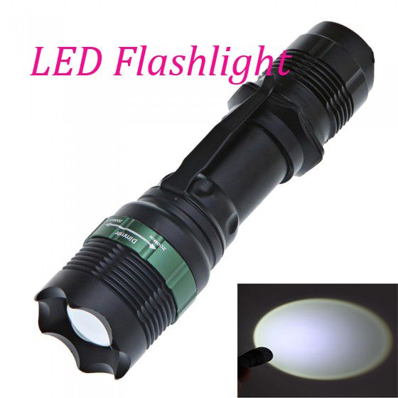 Q5 800LM LED Tactical Flashlight Zoomable Hunting Torch Flash Light Lamp Exquisite Lighting Lantern For Sale For AAA 18650 #Affiliate