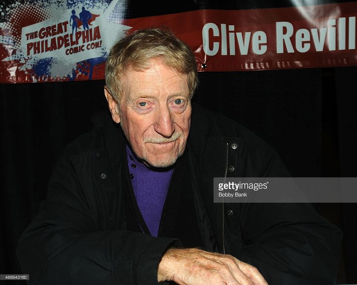 Clive Revill attends the 2015 Great Philadelphia Comic Con at the Greater…