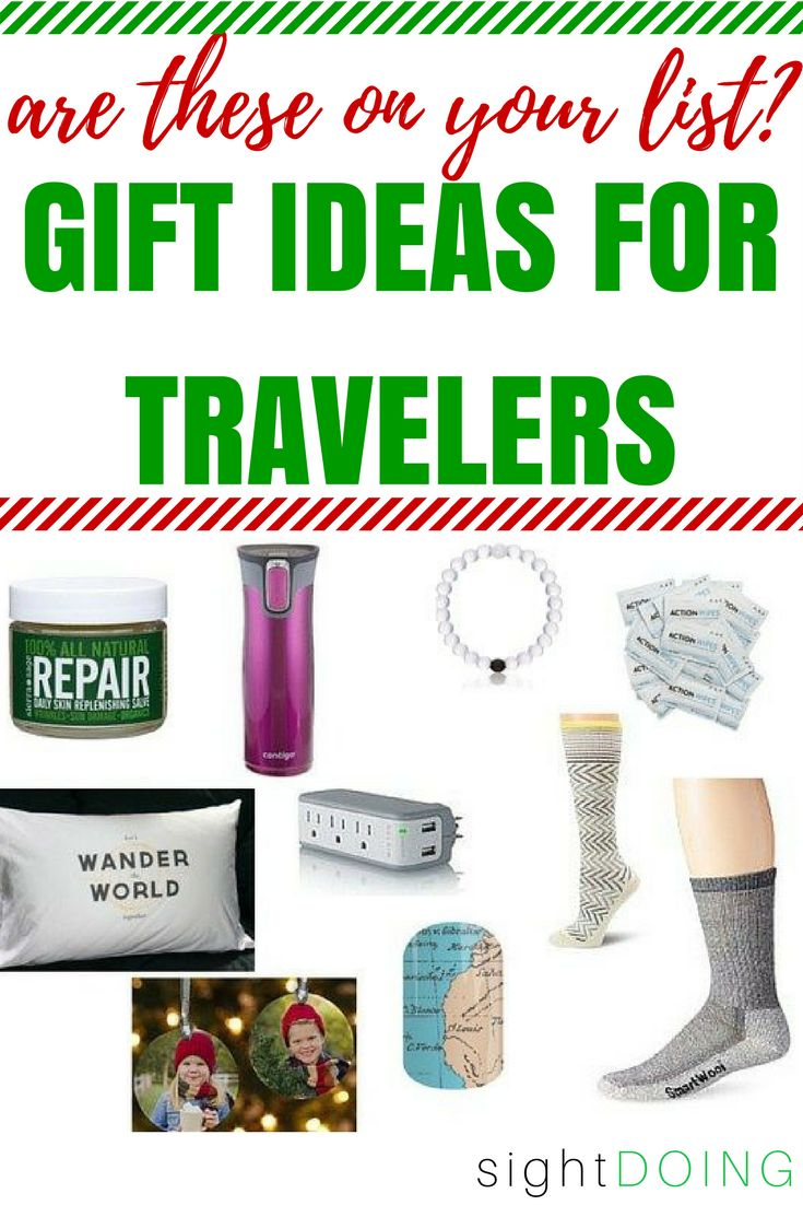 These Christmas gifts are just what your favorite traveler wants! Use these cheap ideas to start shopping. I've got 80 ideas under $100, some of which are perfect stocking stuffers!