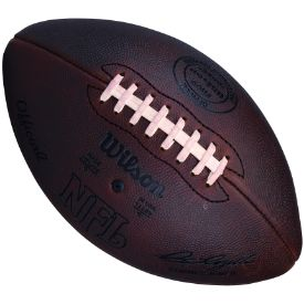 Old Ghost Collectibles - Wilson Duke F1250F Pete Rozelle Official NFL Leather Throwback Game Football 1941 to 1970, $109.99 (http://www.oldghostcollectibles.com/wilson-duke-f1250f-pete-rozelle-official-nfl-leather-throwback-game-football-1941-to-1970/?page_context=category