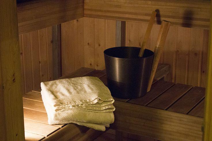 Sauna, Hotelli Lohja | by visitsouthcoastfinland #visitsouthcoastfinland #Finland #Lohja #hotellilohja #sauna