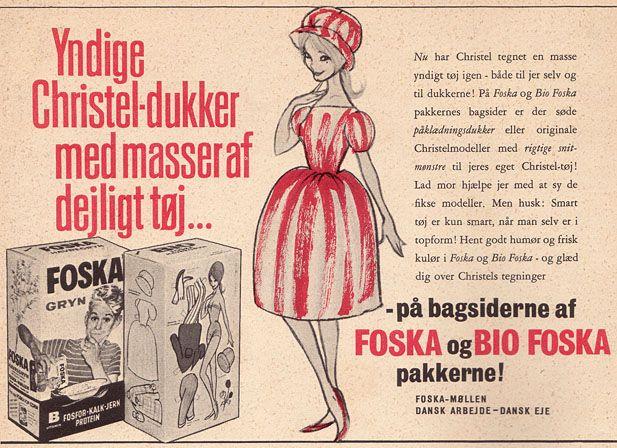 Foska Christel påklædningsdukker