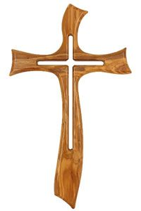 "Olivewood Cross-Natural Finish 19"" $235.00 http://www.celebrateyourfaith.com/Filigree-Tree-of-Life-Bronze-C-P840C1702.cfm"