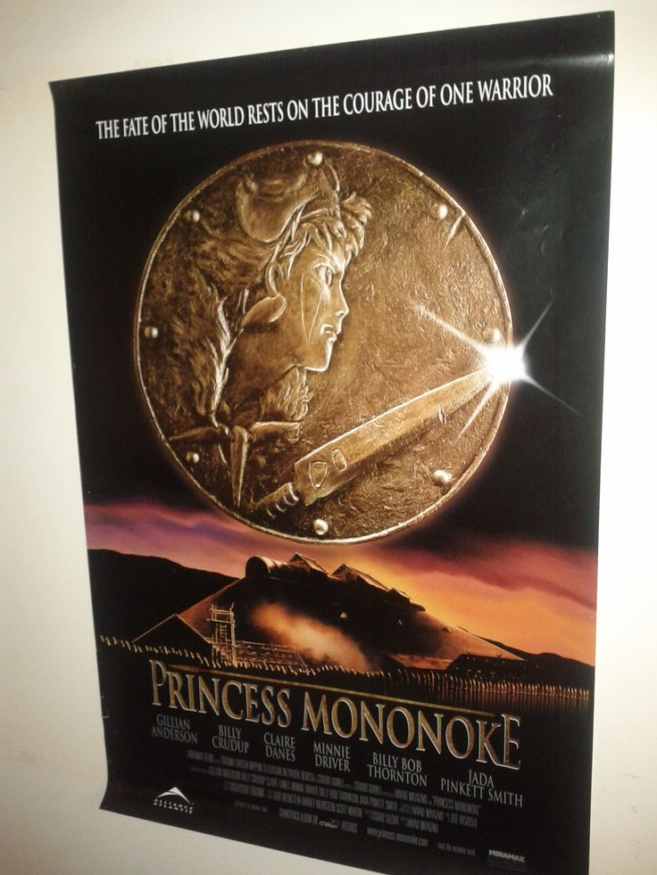 Princess Mononoke Poster $63.00 (Plus Shipping and Handling)