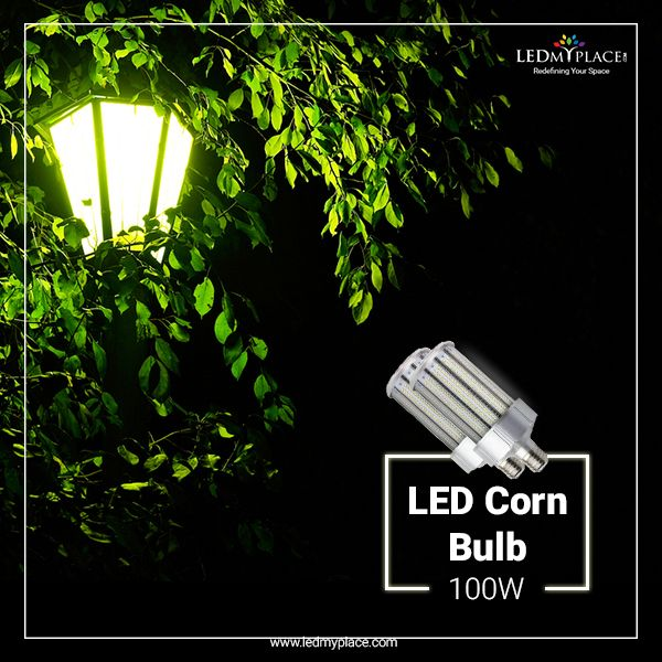 Led Corn Bulb 100w 5700k 11 852 Lumens E39 Mogul Base Ip64 400 Watt Replacement 360 Beam Angle Bulb Energy Efficient Bulbs Led