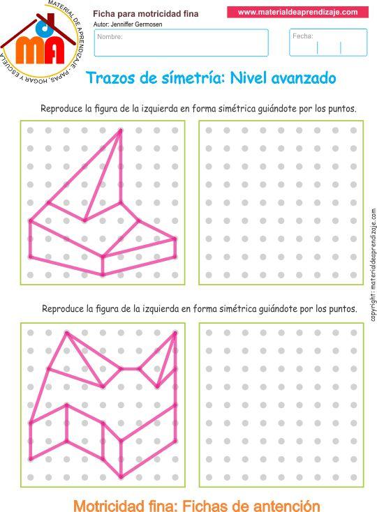 Trazos de simetría: Nivel avanzado 11