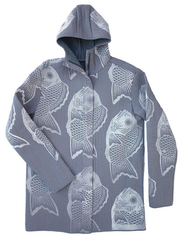 Masha Lamzina: Fish Soap Print Jacket