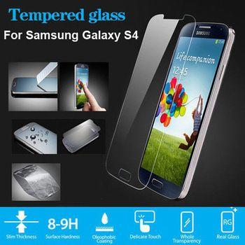 Закаленное стекло защитная пленка для Galaxy S4 SIV S 4 закаленное стекло для Samsung Galaxy S4 i9500 i9505 + безопасные пакет
