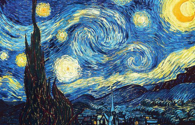 Van Gogh pintou a turbulência em Noite Estrelada;