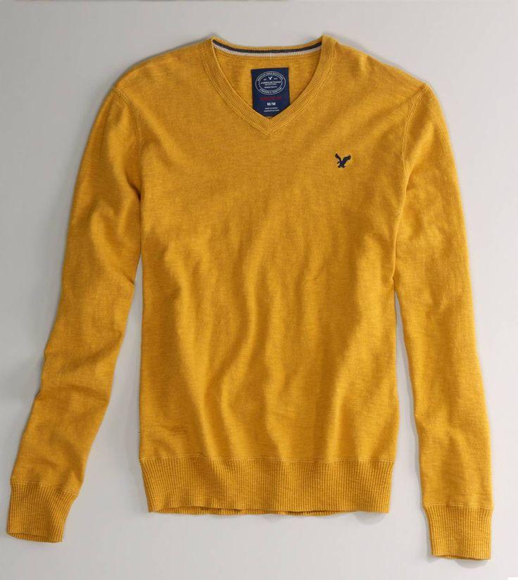 AE V-Neck Sweater | Di...