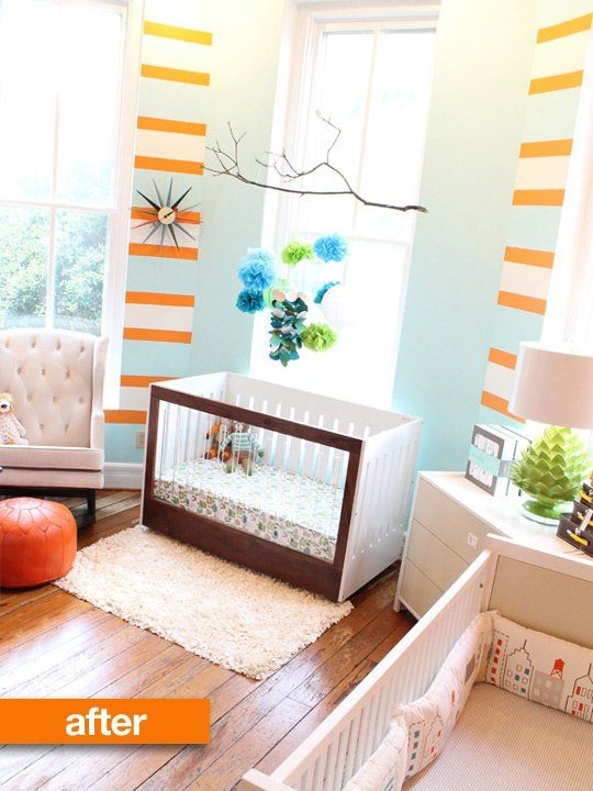 Before & After: Traditional Nursery Decor Goes Happy Modern — Very Rosenberry