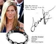 Jennifer Anisten wearing Shamballa Bracelet!
