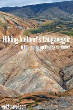 The Laugavegur is Iceland's best multi-day hike. In fact, we think it's the best multi-day hike in the world. Read our inspirational post and book your ticket to Iceland so you can experience this amazing beauty, too!