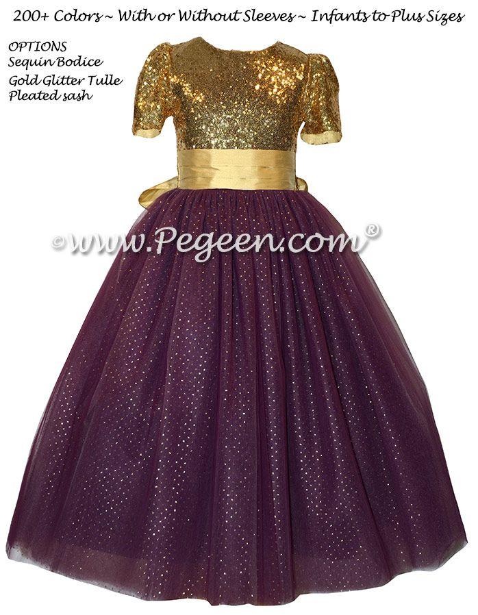 The 381 best Purple flower girl dresses images on Pinterest ...