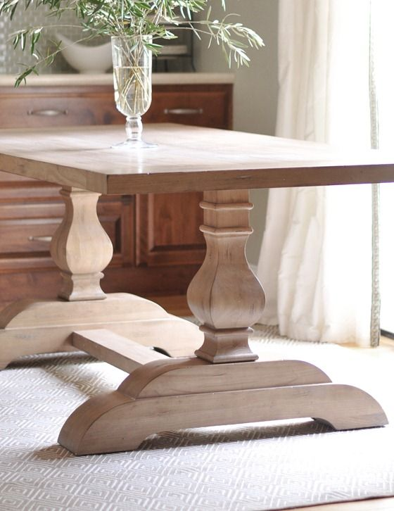 Best Trestle Tables Images On Pinterest Trestle Tables - Trestle dining room table