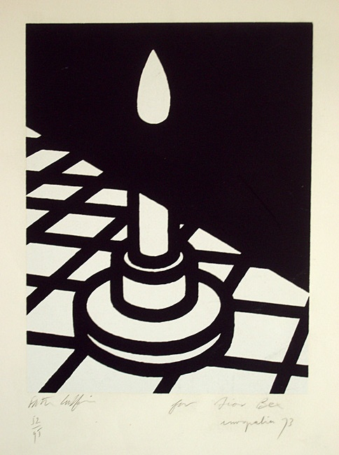Patrick Caulfield, Candle