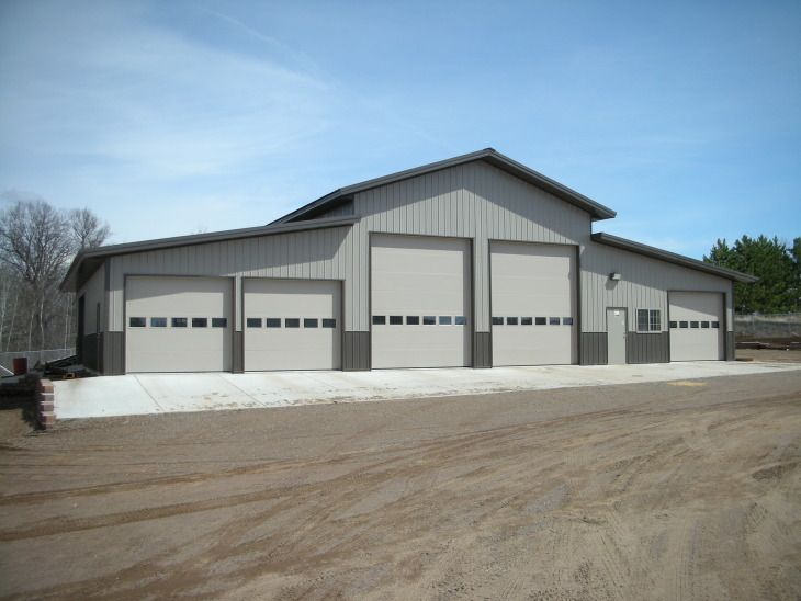 Pole Barns And Pole Building The G463 36 X 48 X 16 Rv