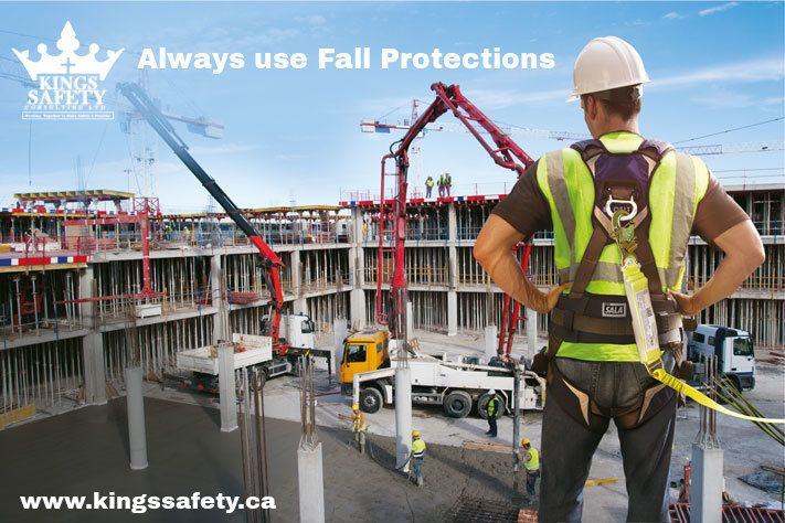 Unsafe portable ladders, rooftops, elevated areas, scaffolding, and lifting equipment can all put employees at risk for serious, even fatal, falls. Safety equipment such as ropes and harnesses can prevent the employees from injuries.