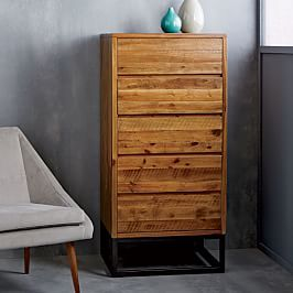 Logan 5-Drawer Dresser - Natural