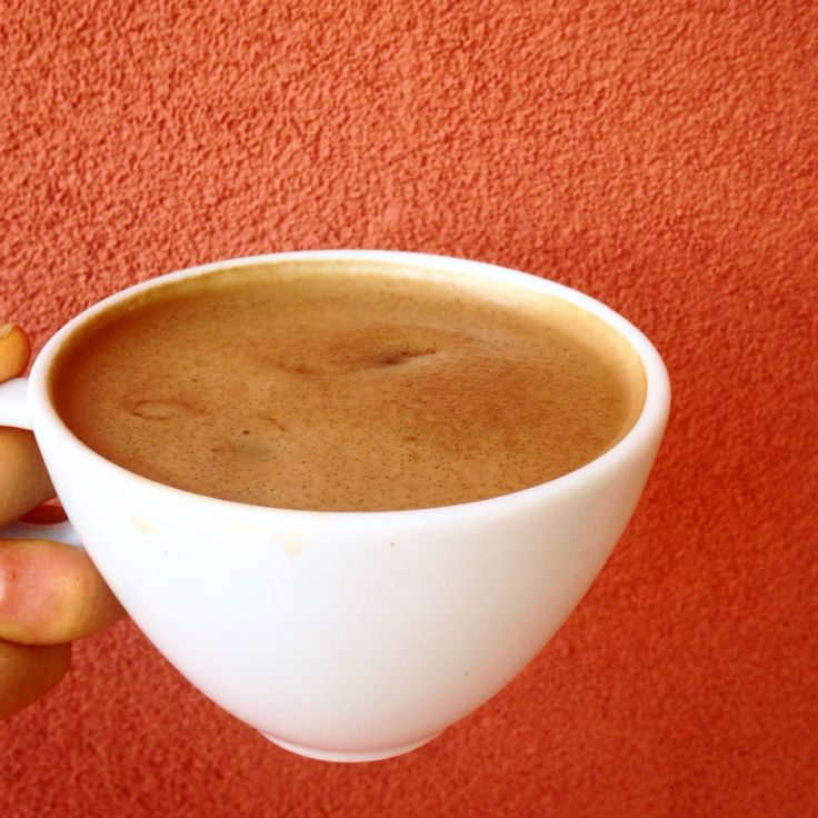 Mmm- coconut-ghee latte ~ 1/8 cup full fat coconut milk, 1/2 tbsp ghee, and coffee heated and blended to perfection!!