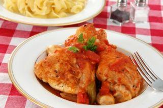 Poulet basquaise délicieux (mijoteuse)