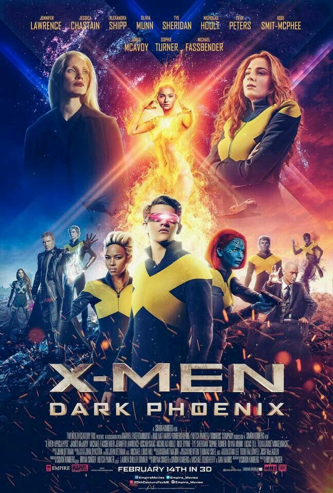 X Men Dark Phoenix Movie Poster Xmen Darkphoenix Fantastic Movie Posters Scifi Movie Posters Horror Movie Posters Actio Dark Phoenix X Men Marvel Filmleri
