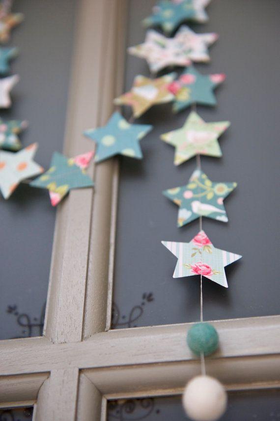Christmas Garland Weihnachten Christbaumkugel Winter von LaMiaCasa