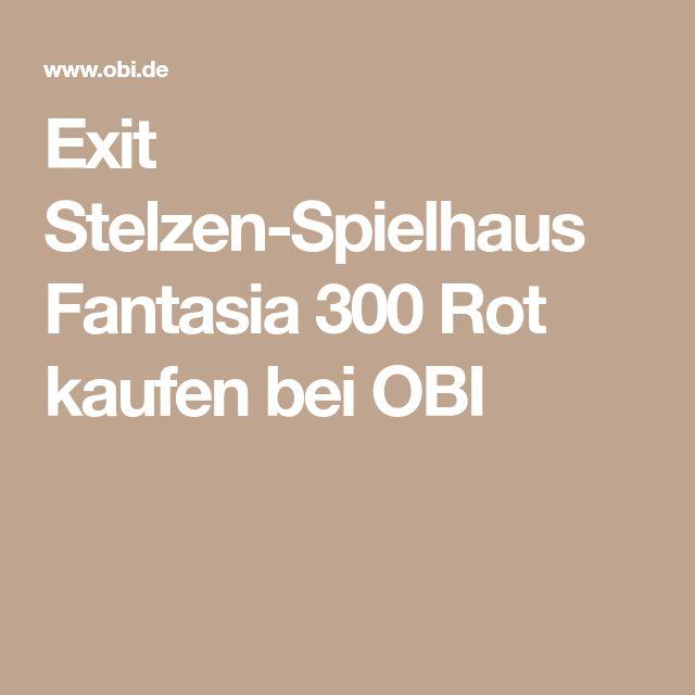 Exit Stelzen-Spielhaus Fantasia 300 Rot kaufen bei OBI