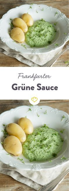 Die Mischung macht's: 7 ausgesuchte Kräuter verleihen Frankfurter Grüner Sauce ihre Farbe und den unverwechselbaren Geschmack.