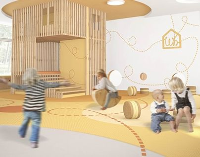 "Check out new work on my @Behance portfolio: ""Child Development studio ""Wood house"""" http://on.be.net/1LIgUZd"