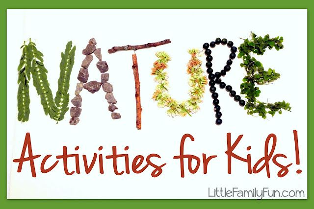 Little Family Fun: Nature Activities