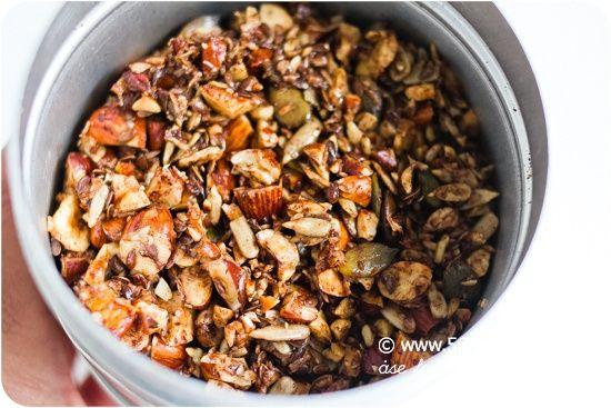 granola musli recept