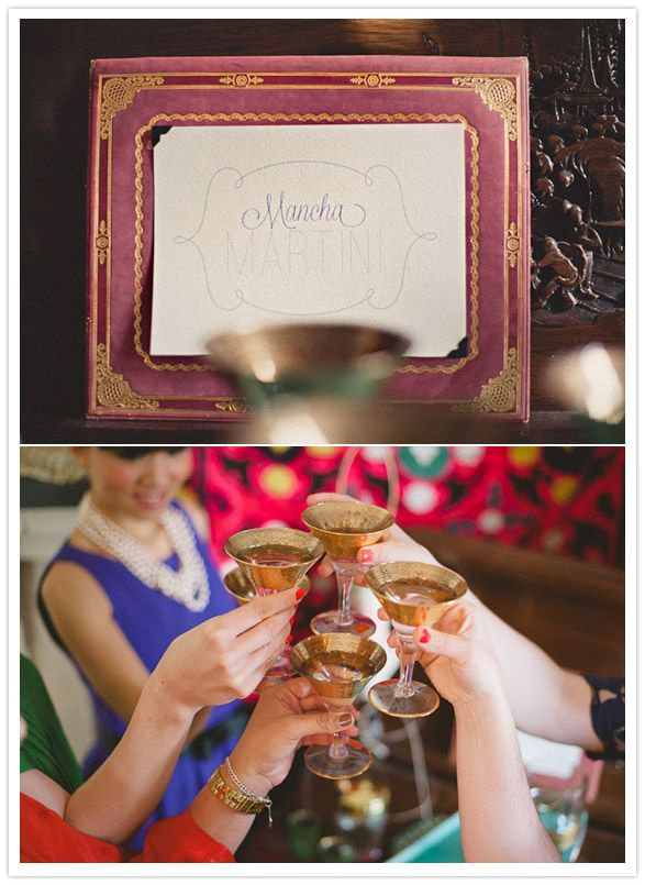 signs, 70's inspired bridal shower